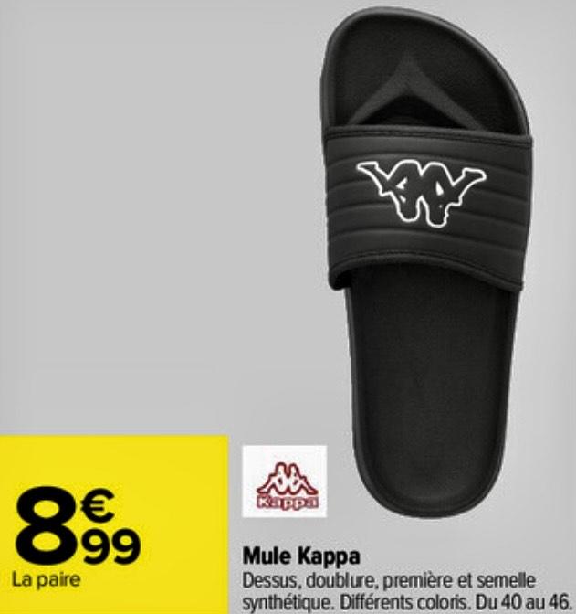 Mules Kappa - Tailles 40 à 46