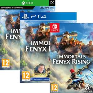 Immortals Fenyx Rising sur Nintendo Switch, PS4 ou Xbox One / Series