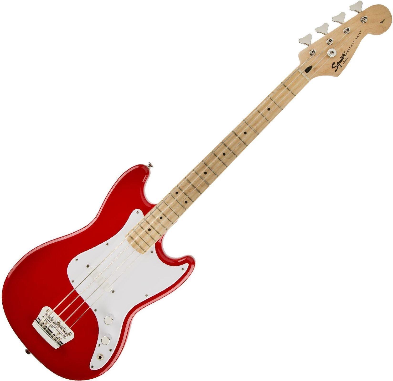 Guitare basse électrique Squier by Fender Bronco Bass - Torino Red