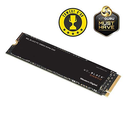 SSD Interne M.2 NVMe Gen4 Western Digital Black SN850 - 1 To