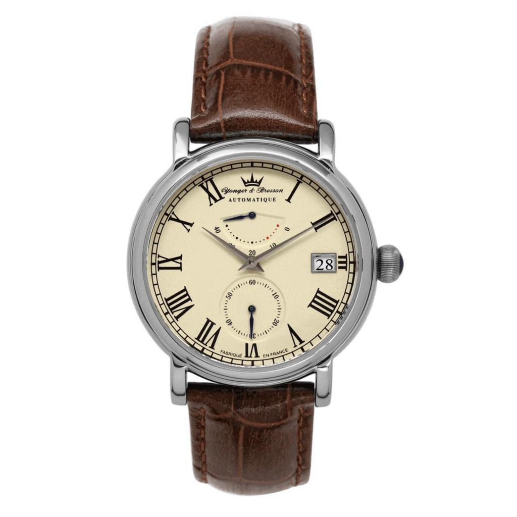 Montre automatique Yonger & Bresson Chambord (Albâtre, 39 mm) +1 bracelet offert (yongerbresson.com)