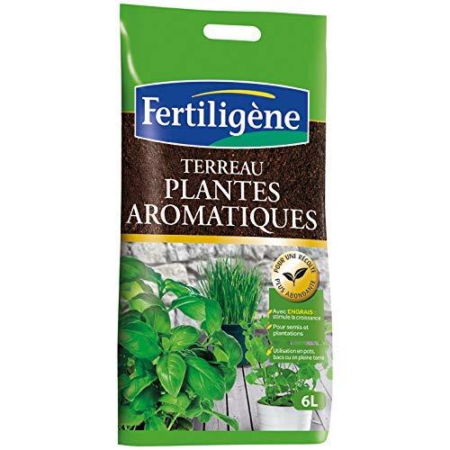Lot de 7 Terreau Plantes Aromatiques Fertiligène