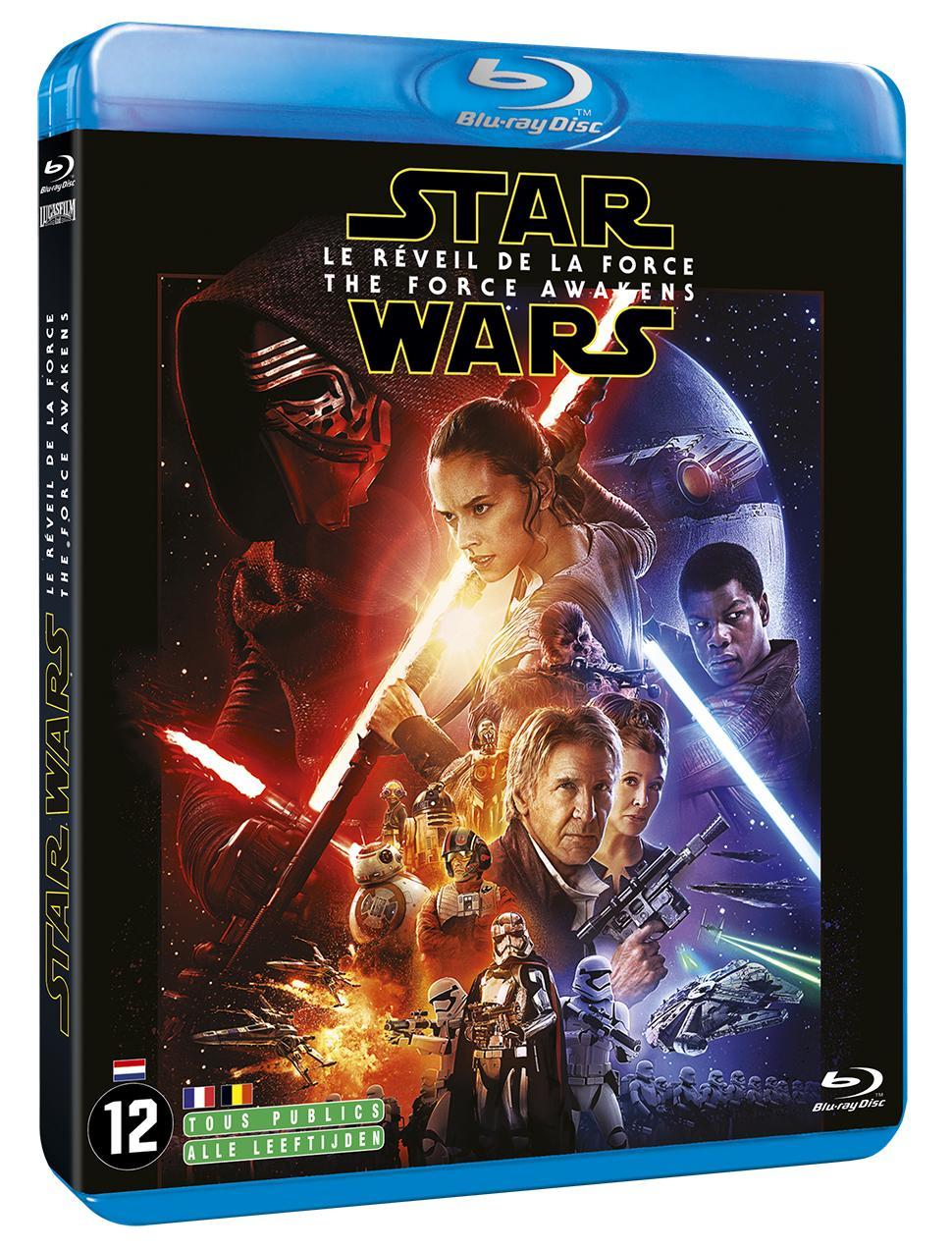 DVD Star Wars VII : Le Réveil de la Force à 10€ ou Blu-ray (via 5€ sur la carte)