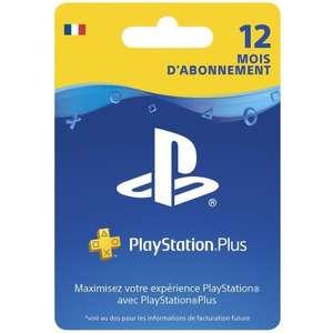 30% de réduction sur toutes les cartes JV - Ex: Abonnement de 12 mois au Playstation Plus (dématérialisé) - Auchan Epagny (74)