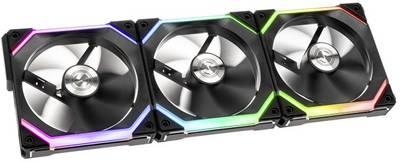 Lot de 3 Ventilateurs PC Lian Li Uni Fan SL120 (120mm, aRGB) avec boîtier de contrôle