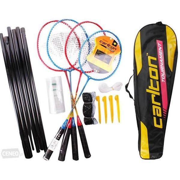 Kit Loisir Raquette de Badminton Carlton - 4 Joueurs