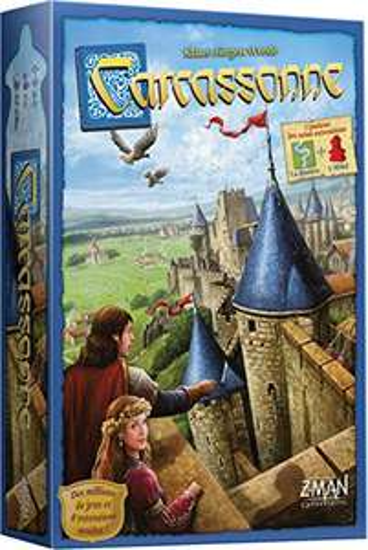 Jeu de société Carcassonne Asmodee
