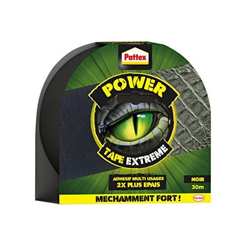 Ruban adhésif Pattex Power tape extrême - Noir, 30m x 5cm