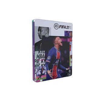 Fifa 21 sur PS4 + Steelbook