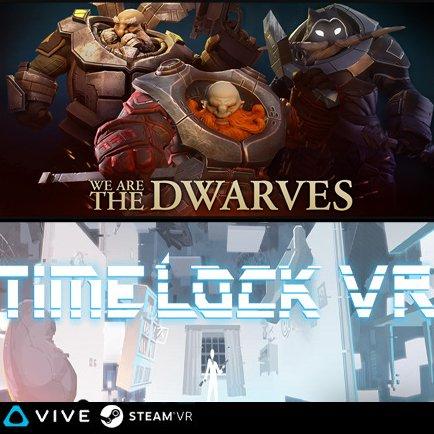 We Are the Dwarves + Timelock VR à 0.63€ ou Timelock VR + Deployment à 0.21€ sur PC (Dématérialisés)