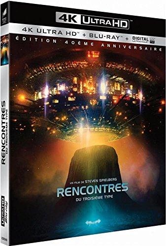 Blu-Ray 4K Rencontres du troisième Type - Édition 40e anniversaire + Blu-Ray Bonus + Digital Ultraviolet