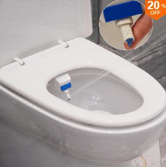 Système de nettoyage intelligent Heshe pour WC