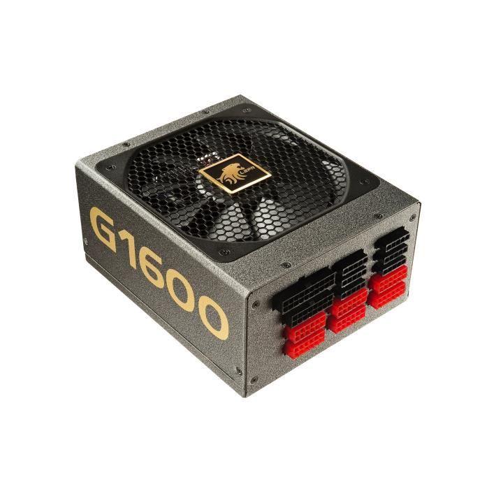 Alimentation PC modulaire Lepa G1600 MA-EU - 1600W, 80+ Gold
