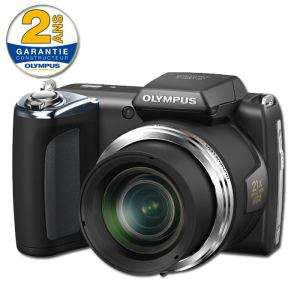 bridge olympus  SP620 Noir - 16 MPixels - Zoom optique 21 x