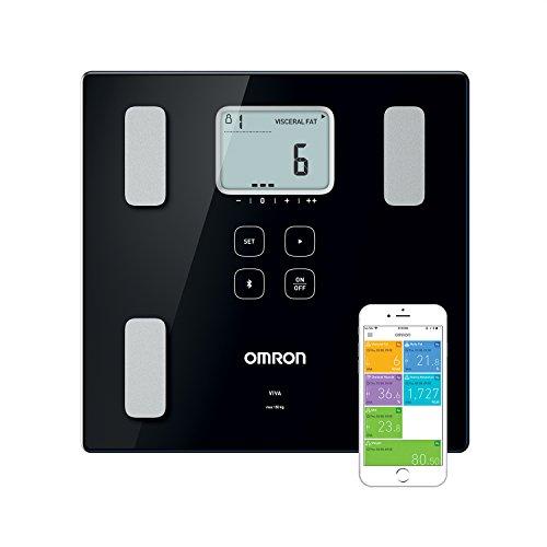 Balance connectée Omron Viva - avec moniteur de composition IMC, Bluetooth