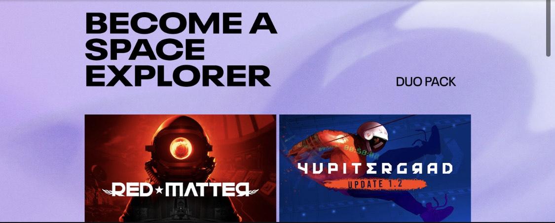 Red Matter et Yupitergrad sur Oculus Quest & Rift (Dématérialisés)