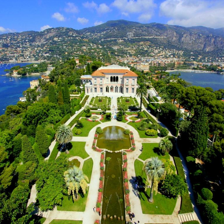 Entrée gratuite dans 24 Jardins d'exception - Ex : Jardin de la Villa Rothschild - Saint-Jean-Cap-Ferrat (06)