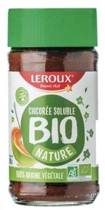 Pot de Chicorée soluble nature Bio Leroux - 100g (Via ODR de 1€)