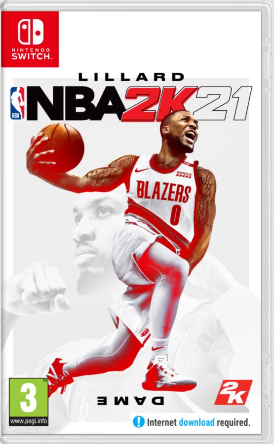 NBA 2K21 sur Nintendo Switch (Dématérialisé)