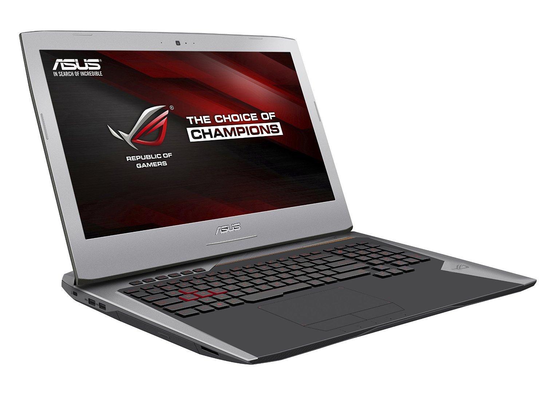 "PC Portable 17"" Asus ROG G752VY-GC118T  - Intel i7-6700HQ, 8 Go de Ram, 1 To + 128 Go SSD, GeForce GTX 980M"