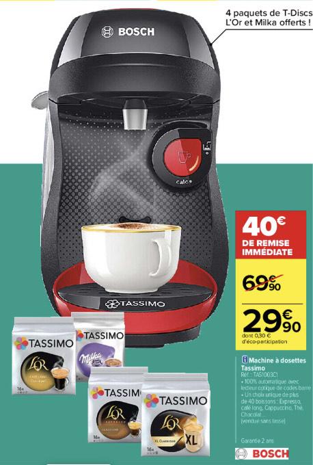 Machine à café Bosch Tassimo TAS1003