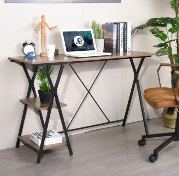 [CDAV] Meubles en promo - Ex : Bureau de Table D'ordinateur 120*48*78cm avec 2 étagères (Vendeur Tiers)