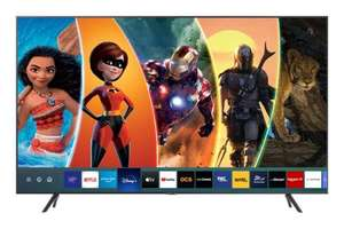 "TV 75"" Samsung UE75TU7175 (2020) - 4K, Edge Led, HDR10+ / HDR HLG, Processeur Crystal, Micro Dimming, Smart TV"