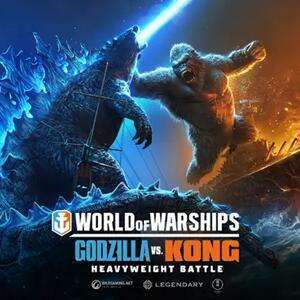 World Of Warships Godzilla vs. Kong Starter Pack Gratuit sur PC (Dématérialisé)