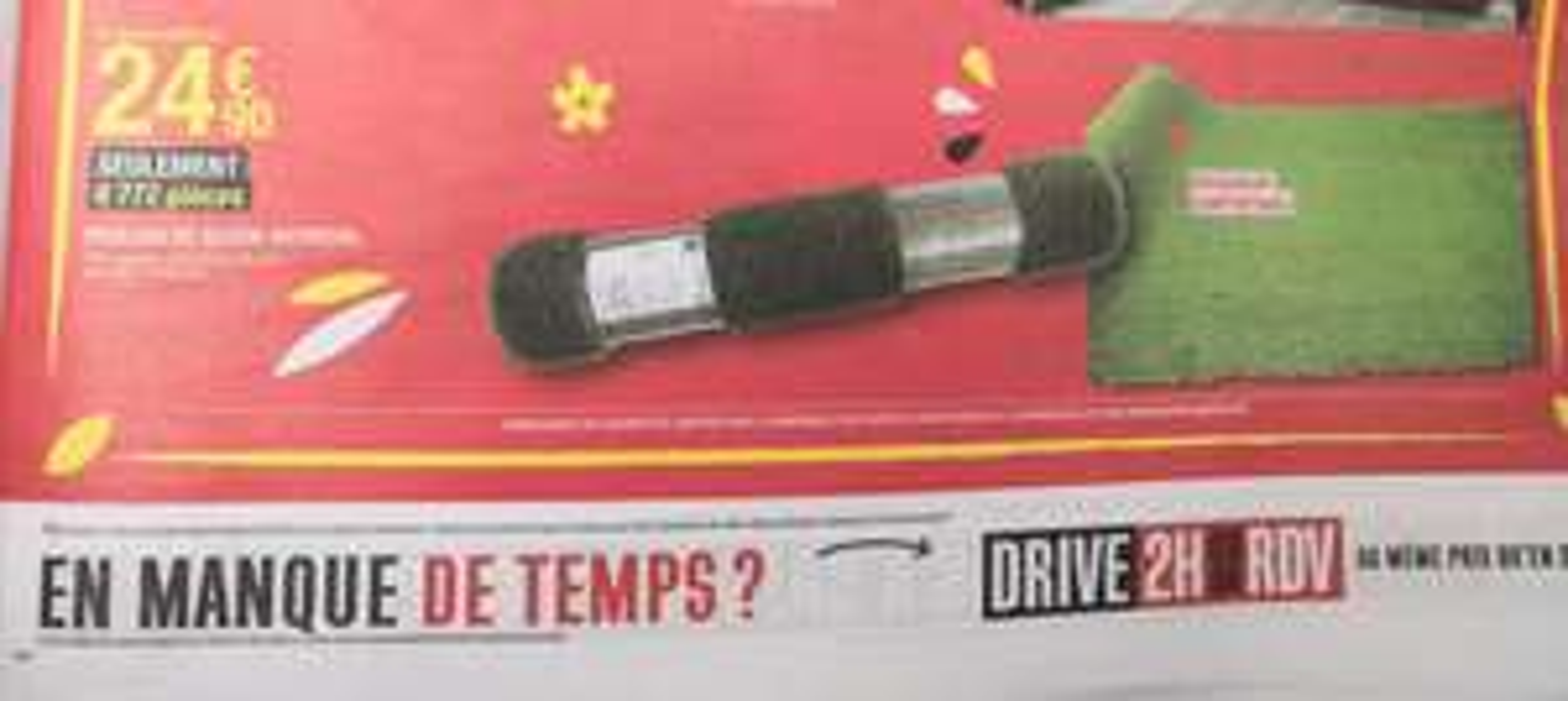 Rouleau de gazon artificiel épaisseur 30mm