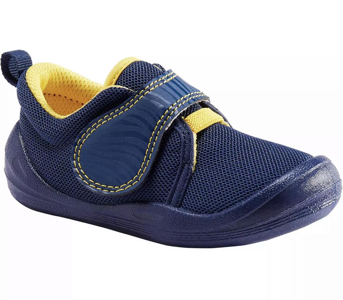 Chaussures Domyos Learn First pour Bébé - Bleu turquin (Taille 21 et 22)