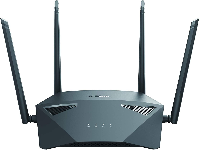 Routeur D-Link DIR-1950- Bi-Bande (2,4 GHz / 5 GHz), Gigabit Ethernet, Noir