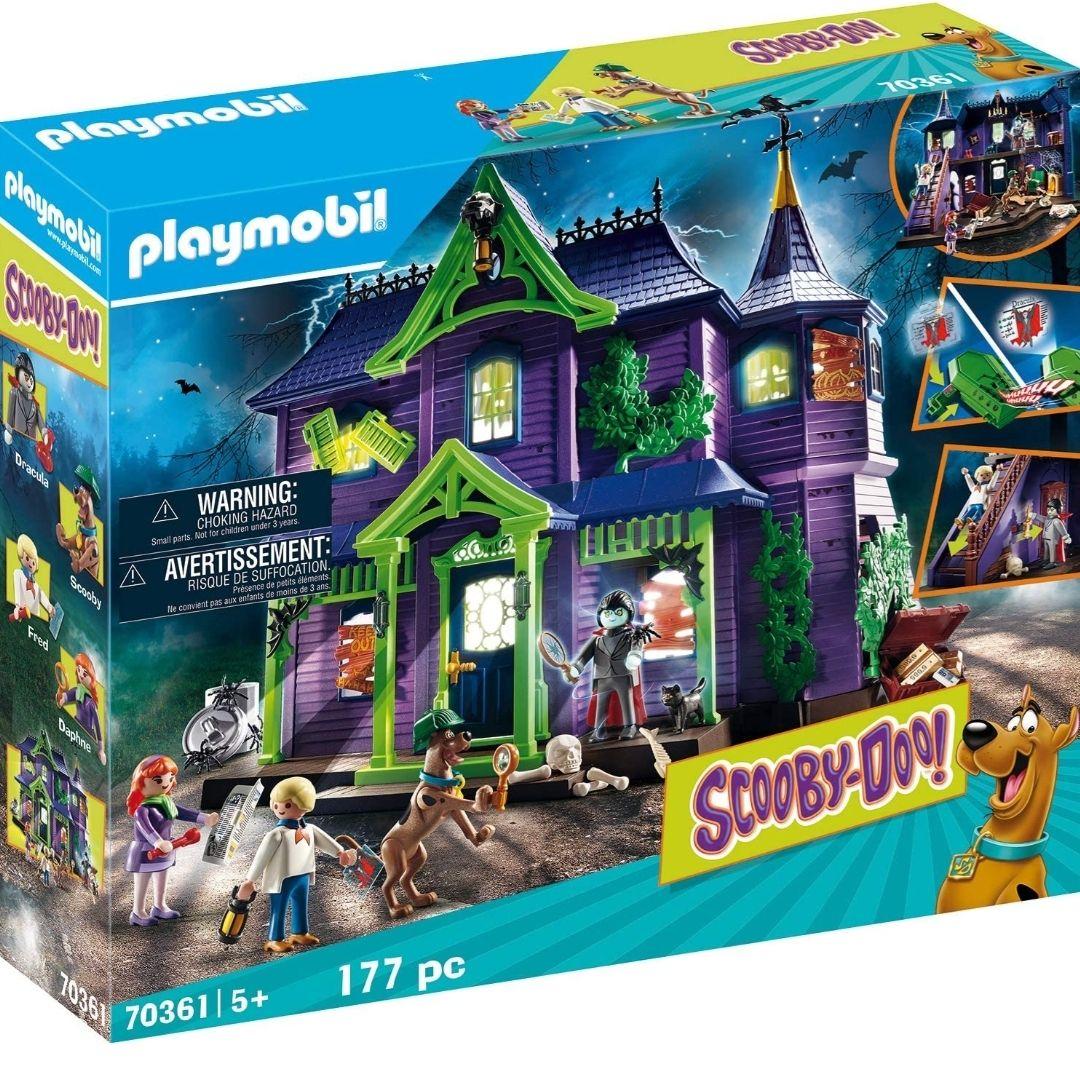 Playmobil Scooby-doo - Le Manoir Hanté (70361)