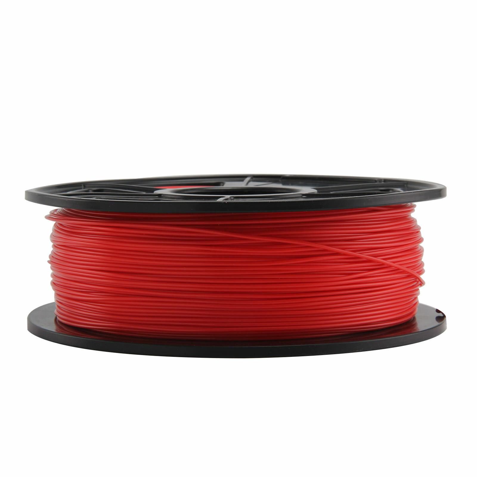 Filament PLA pour imprimante 3D - 1.75mm, 1Kg (Rouge)