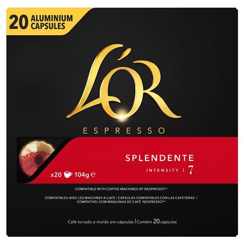 Boîte de 20 capsules L'Or Espresso - Diverses variétés