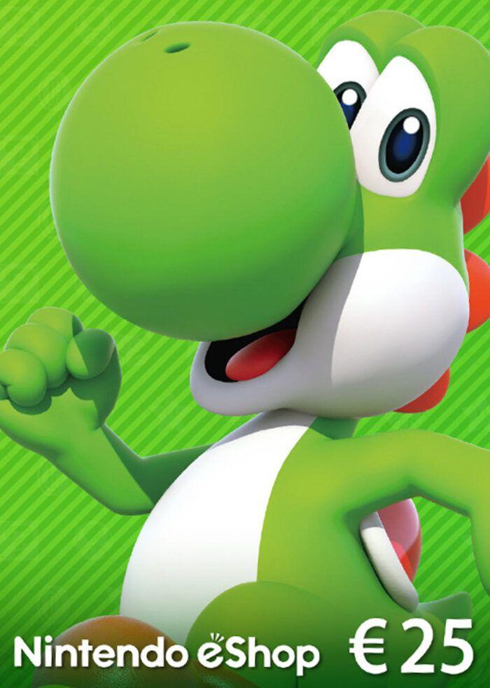 Carte Nintendo eShop de 25€ (Dématérialisé)
