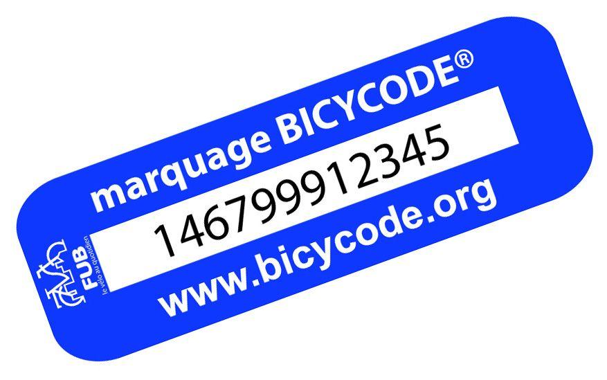 """Mai à Vélo"" : Marquage bicycode gratuit - Gironde (33)"
