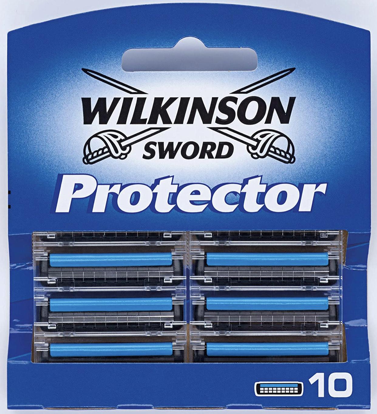 Paquet de 10 lames de rasoir Wilkinson Sword Protector