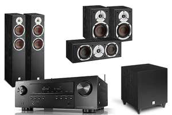 Ensemble Home Cinéma Dali spektor 5.1 + Amplificateur Denon 650h (hidden-audio.de)