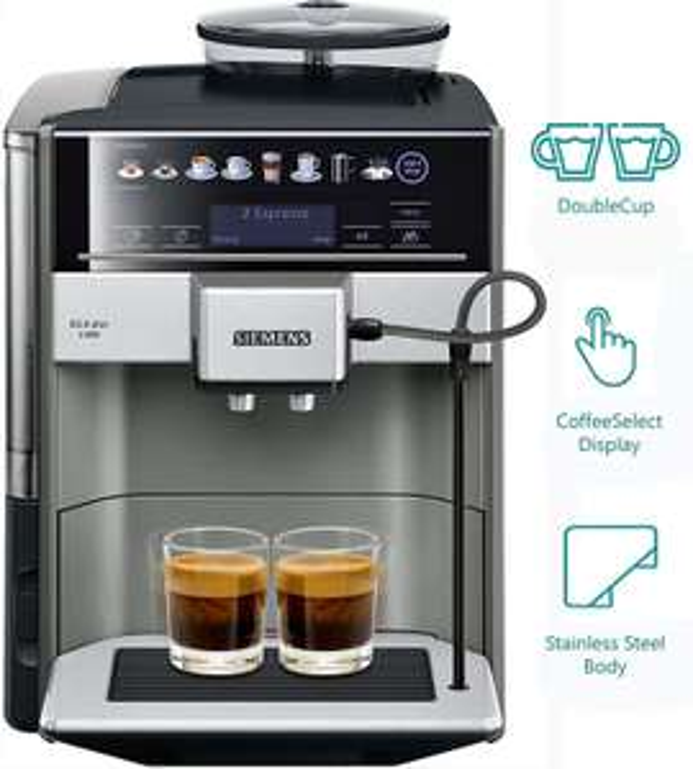 Machine à café automatique Siemens EQ.6 Plus s500