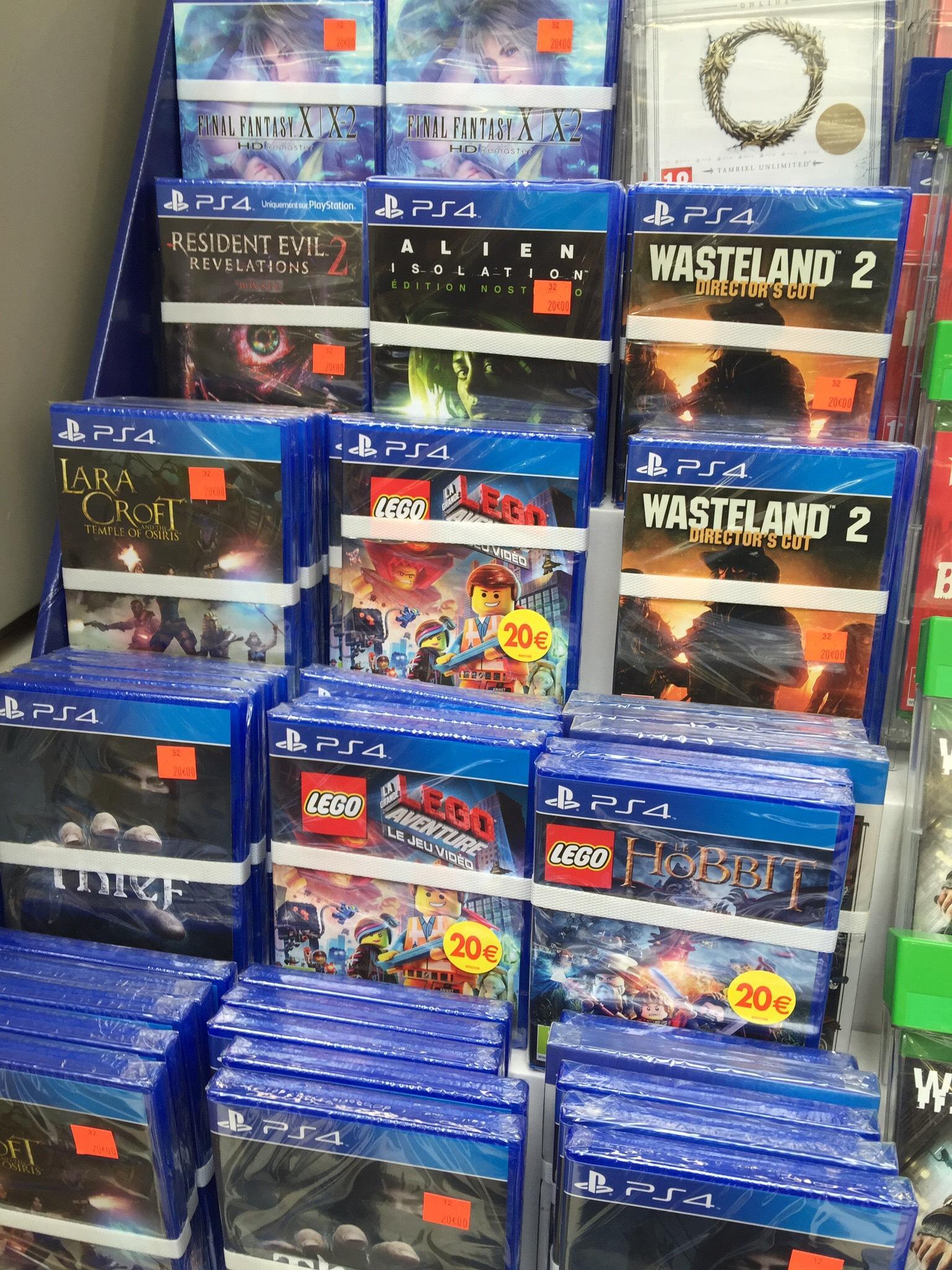 Sélection de jeux PS4 et Xbox One (Lego Hobbit, etc)
