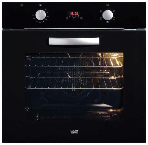 Lot plaque induction (4 zones) + Four à chaleur brassée Cooke & Lewis (303436)