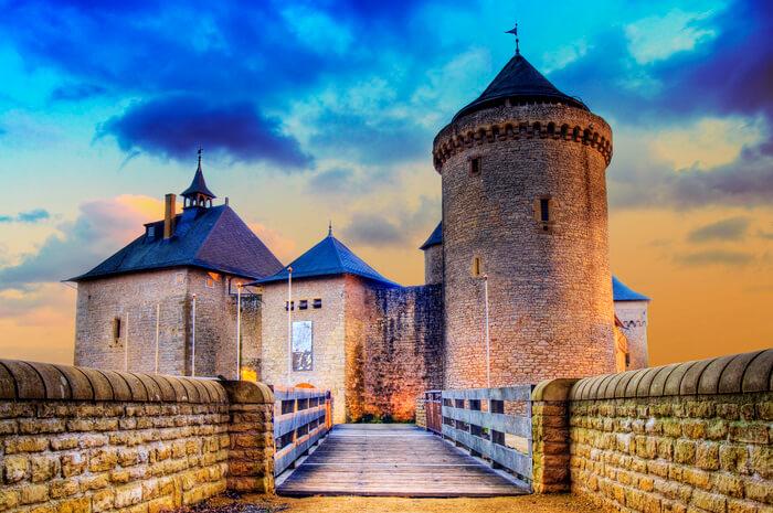 Entrée gratuite des sites Passionnément Moselle - Ex: Château de Malbrouck à Manderen (57)