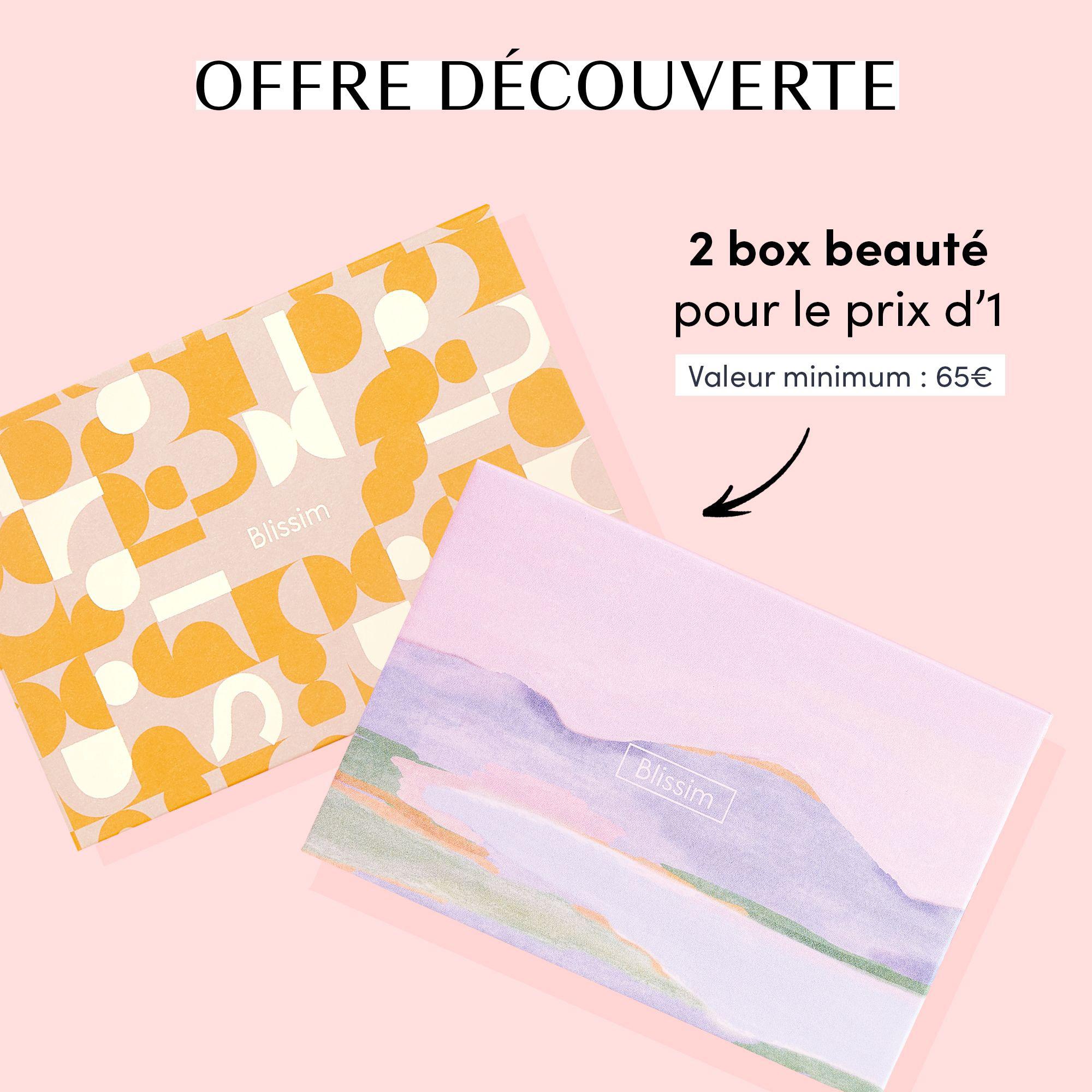 Box beauté du mois de mai + Box collector Blissim