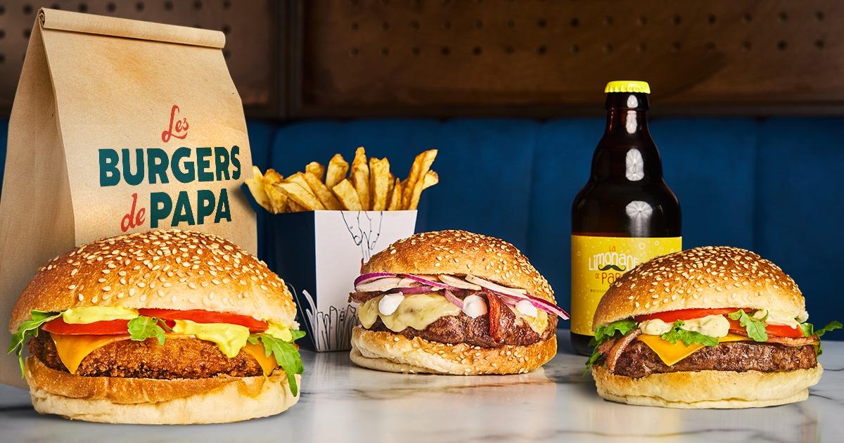 1 burger acheté = 1 burger offert - Les Burgers de Papa Valence (26)