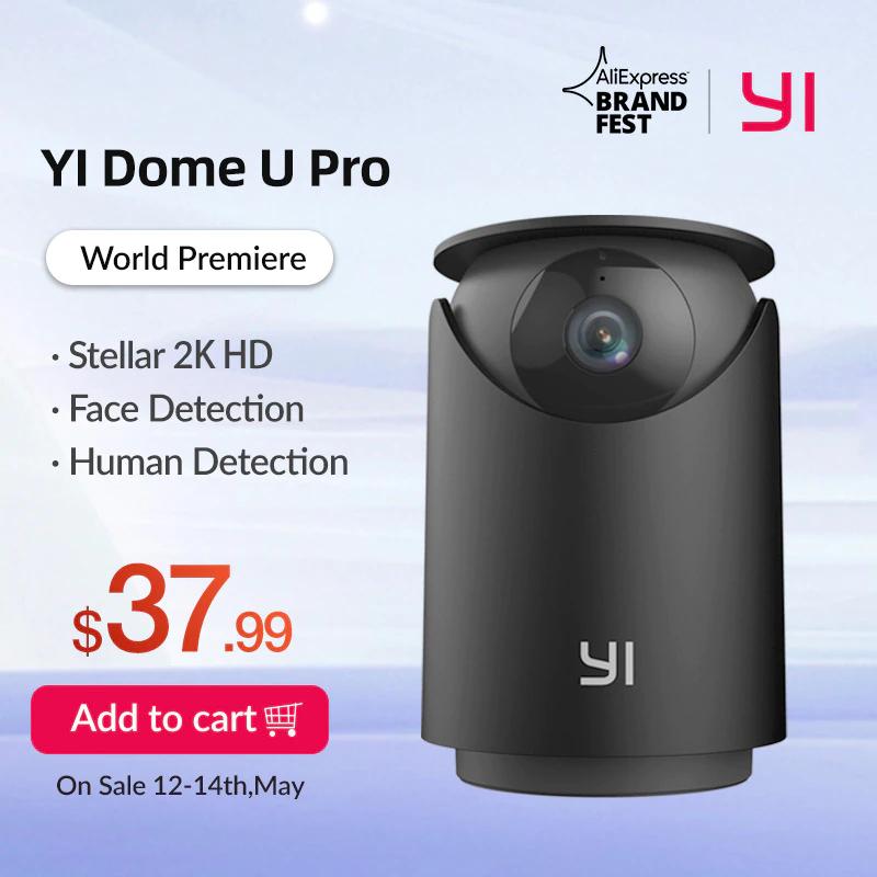 Caméra de surveillance YI Dome U Pro