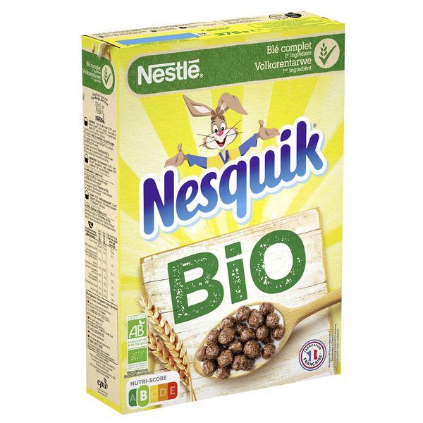 Céréales Bio Nestlé divers variétés - Ex : Nesquik Bio 375g (via Shopmium)