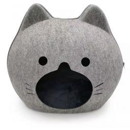 Panier tête de chat