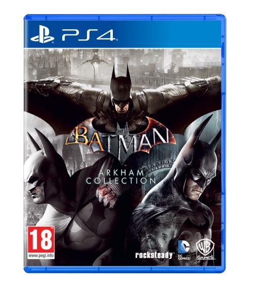 Batman : Arkham Collection sur PS 4 - Boitier Italien / Jeux en VF