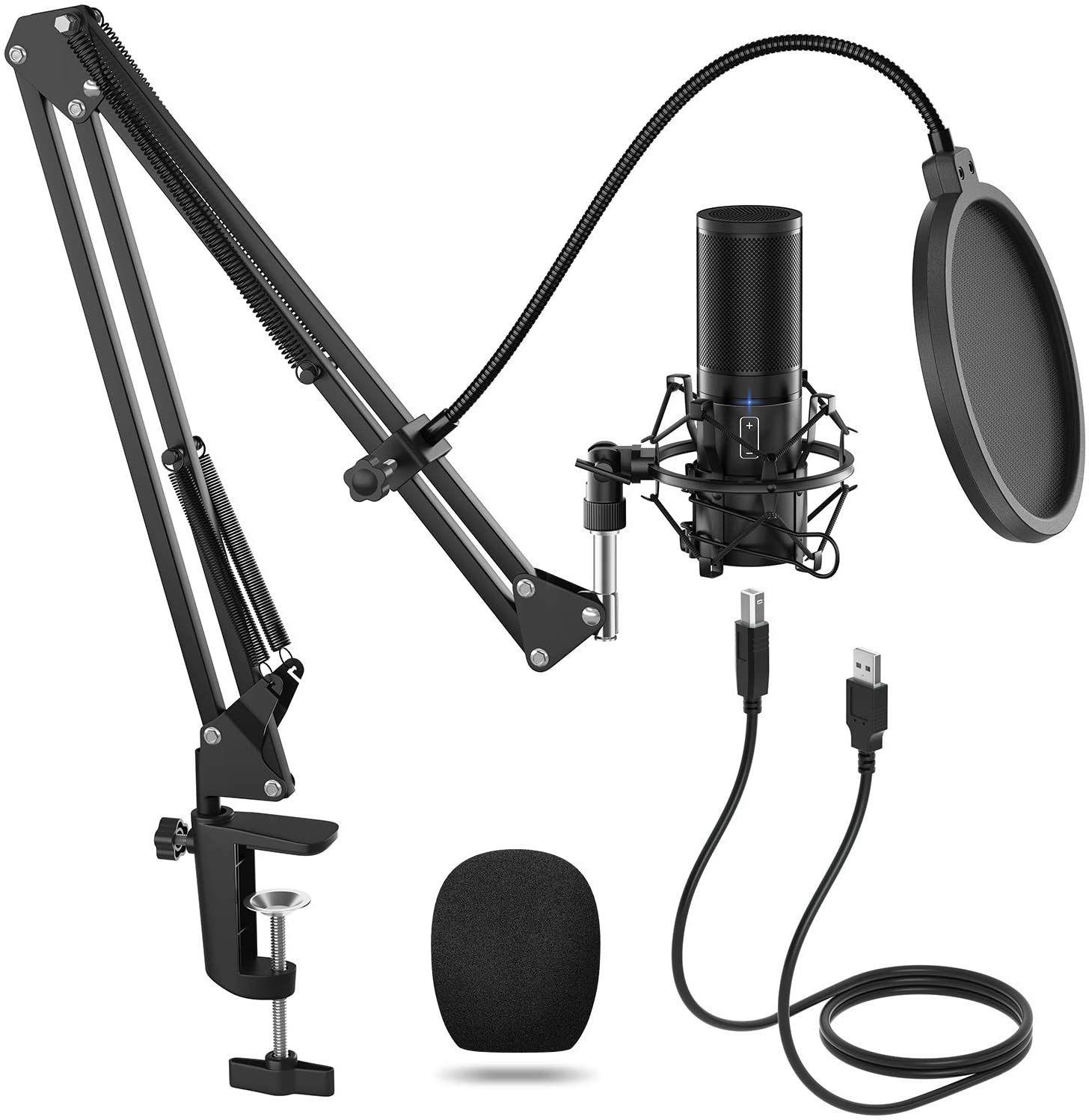 Microphone à condensateur Tonor Q9 (vendeur tiers)