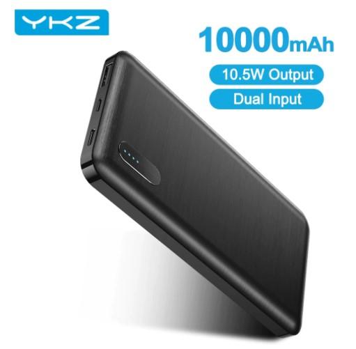 Lot de 2 batteries externes YKZ PowerCore - 10000mAh (Entrepôt Belgique)